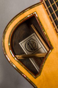 custom guitar label handmade steelstring guitar uk